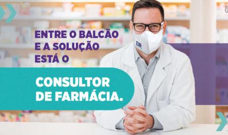 Entre o balcão e a solução está o Consultor de Farmácia